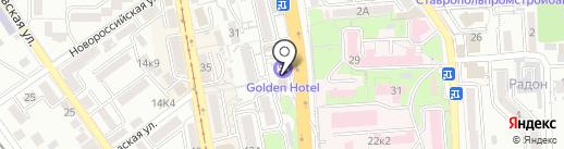 Транснефть, ЗАО на карте Пятигорска