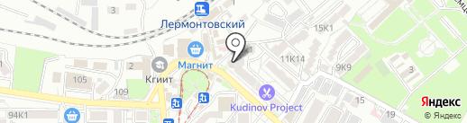 Дебют на карте Пятигорска