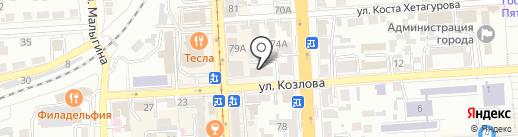 Альфамед на карте Пятигорска