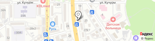 ЗаПой на карте Пятигорска