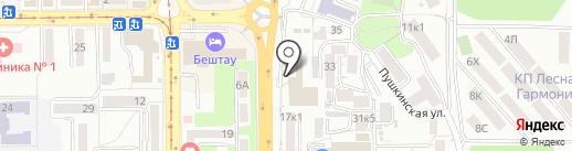 Техникум информационных технологий на карте Пятигорска