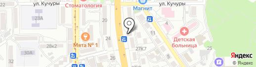 Компаньон на карте Пятигорска