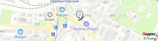Salvatini на карте Пятигорска