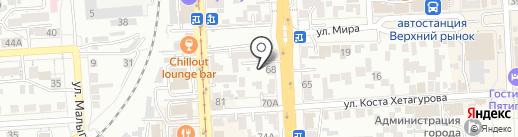 GOLDEN TIME на карте Пятигорска