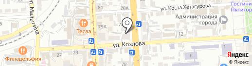 Бизнес-новости на карте Пятигорска