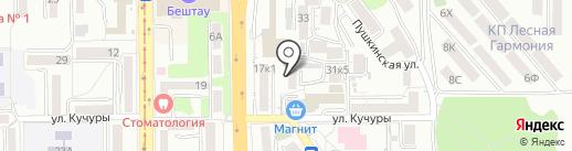 Ковчег на карте Пятигорска