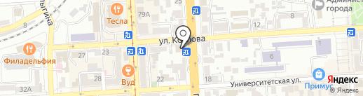 Медтехмаркет на карте Пятигорска