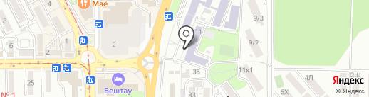Пятигорский медико-фармацевтический институт на карте Пятигорска