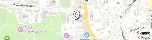 Студия архитектуры и дизайна на карте Пятигорска