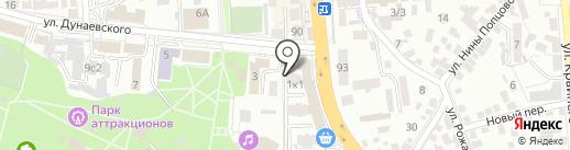 Лор-кабинет на карте Пятигорска