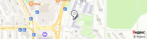 ПМФИ, Пятигорский медико-фармацевтический институт на карте Пятигорска