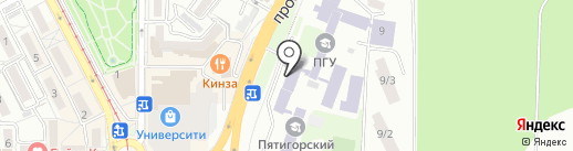 Клуб 26 на карте Пятигорска