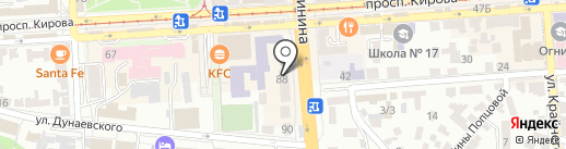 Provanse на карте Пятигорска