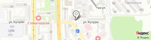 ФИНиК на карте Пятигорска