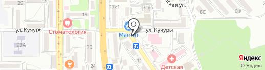 Легенда на карте Пятигорска