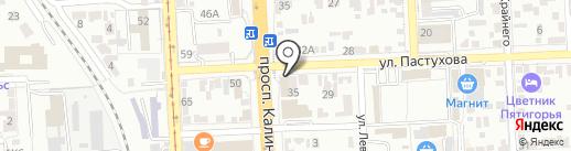 ТРИКОЛОР ТВ на карте Пятигорска
