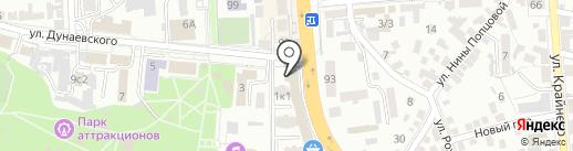 АКБ Связь-Банк на карте Пятигорска