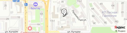 Стоматологический кабинет на карте Пятигорска