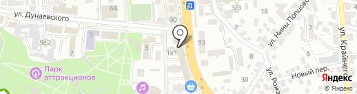 ФИНКА, ЗАО на карте Пятигорска