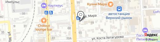 Пятигорская веб-студия на карте Пятигорска