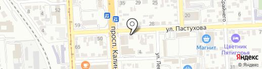 Ратол-Гарант на карте Пятигорска