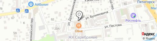 Магазин №1 на карте Пятигорска