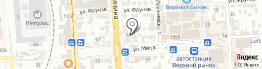 Комиссионный магазин на карте Пятигорска