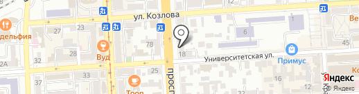 Graf.com на карте Пятигорска