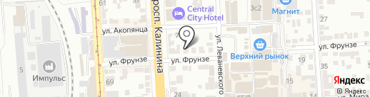 Краснодарзооветснаб на карте Пятигорска