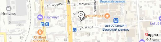 Вита-Плюс на карте Пятигорска