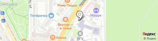Многоуровневая инновационная академия непрерывного образования на карте Пятигорска