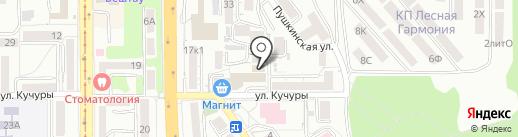 Российский экономический университет им. Г.В. Плеханова на карте Пятигорска