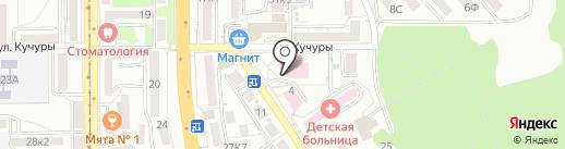 Факультет последипломного образования на карте Пятигорска