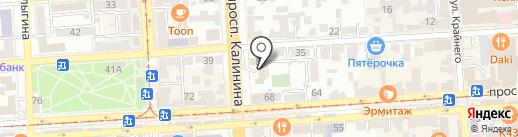 Пожарная часть №15 на карте Пятигорска