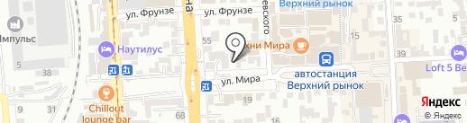 Городская аптека на карте Пятигорска