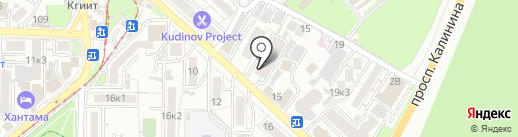 КМВтелеком на карте Пятигорска