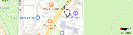 ПГУ-КАДРЫ-СЕРВИС на карте Пятигорска