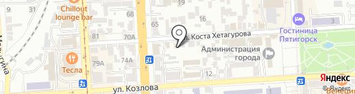 Доверие на карте Пятигорска