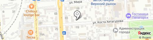 Prime PSK на карте Пятигорска