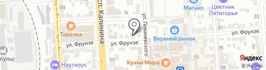 Магазин-мастерская электроники на карте Пятигорска