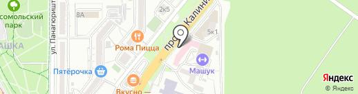 Городская стоматологическая поликлиника на карте Пятигорска