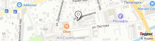 Новая Энергия на карте Пятигорска
