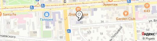 Детский сад №7 им. Ю.А. Гагарина на карте Пятигорска