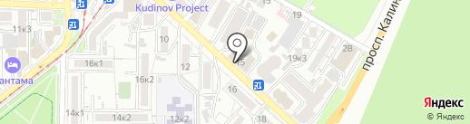 Кайрос на карте Пятигорска