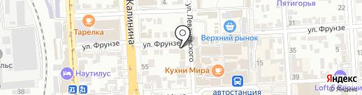 Легенда чая на карте Пятигорска