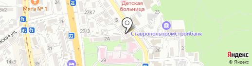 Ортодонт Центр на карте Пятигорска