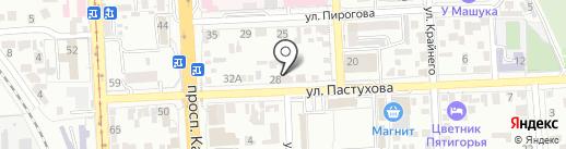Комфорт Плюс на карте Пятигорска