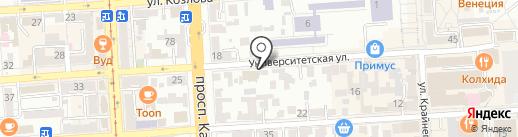 Адвокат Аракелян А.И. на карте Пятигорска