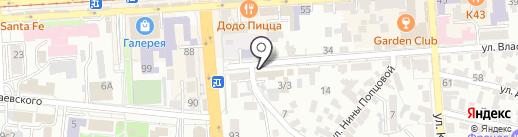 Баня №1 на карте Пятигорска