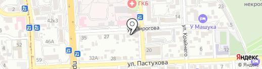 B & B на карте Пятигорска